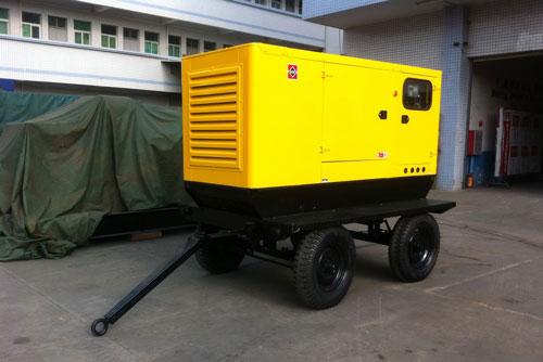 拖车式50kw发电机组